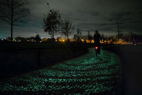 Con đường đầy ánh sao đêm