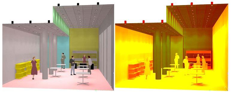 Giải pháp chiếu sáng dân dụng, cửa hàng 9
