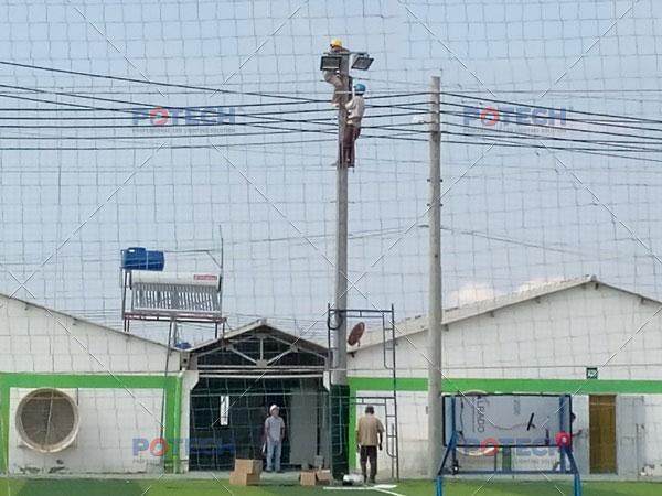 Thi công đèn LED sân bóng đá