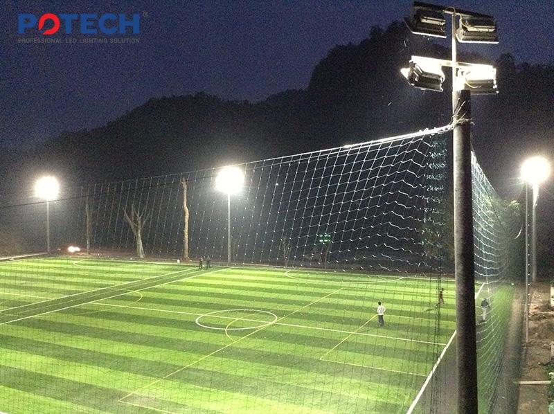 Dự án đèn LED sân bóng Hà Giang