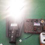 Test công suất đèn đường 120W POTECH