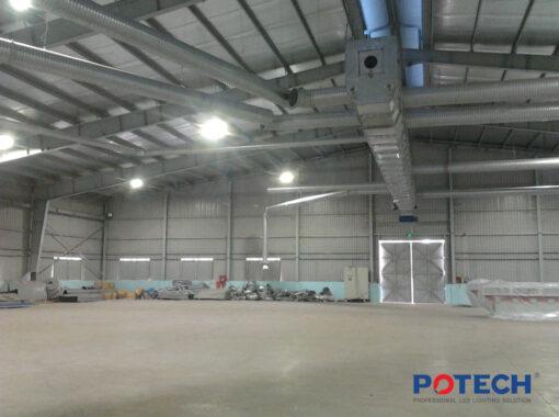 Ứng dụng đèn LED nhà xưởng POTECH