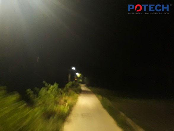 Đèn đường LED POTECH ven sông Cẩm Kim - Hội An