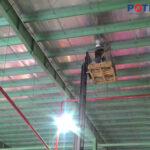 Dự án đèn LED nhà kho công ty Brenntag - POTECH