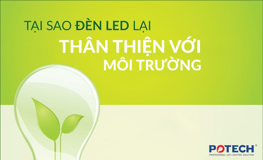 INFOGRAPHIC: Tại sao đèn LED là sự lựa chọn thân thiện với môi trường