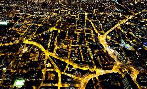 Đèn LED gây ô nhiễm ánh sáng