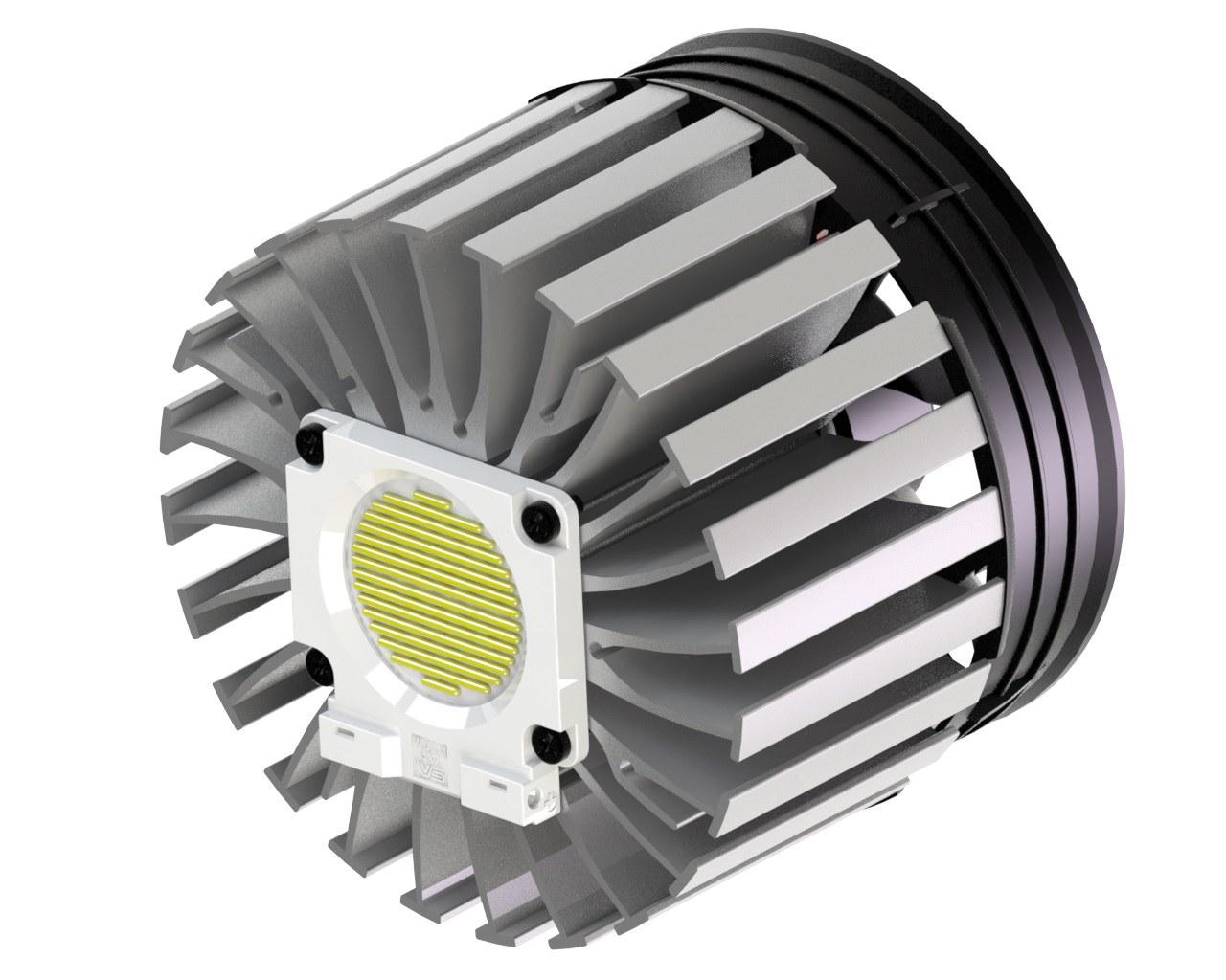 Tản nhiệt chủ động và tản nhiệt bị động cho LED