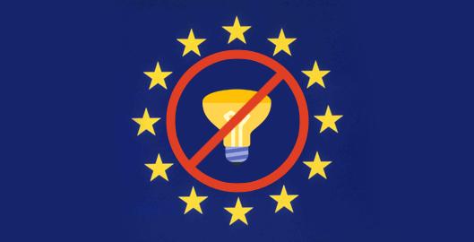 Đèn Halogen và compact huỳnh quang sẽ bị cấm ở Châu Âu
