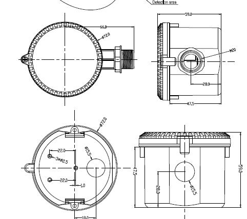 Cấu tạo cảm biến MC031V