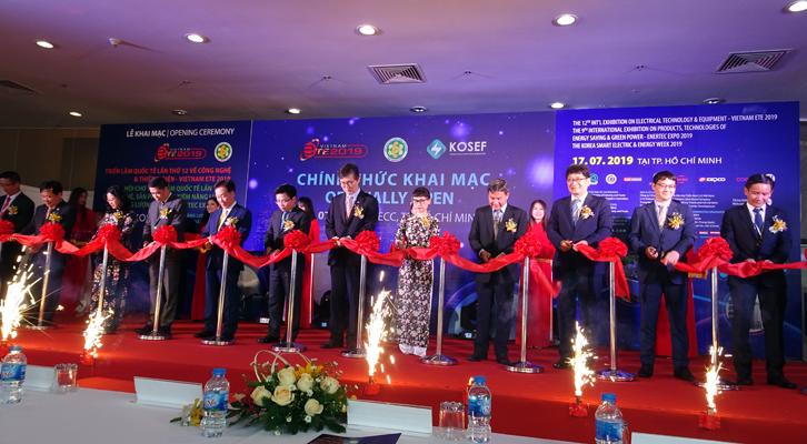 Khai mạc triển lãm Vietnam ETE 2019