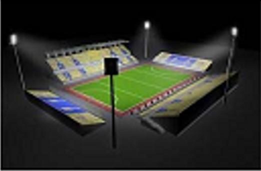 Giải pháp chiếu sáng sân bóng đá mini 5 người, sân 7 người, sân 11 người cho luyện tập giải trí và thi đấu 2