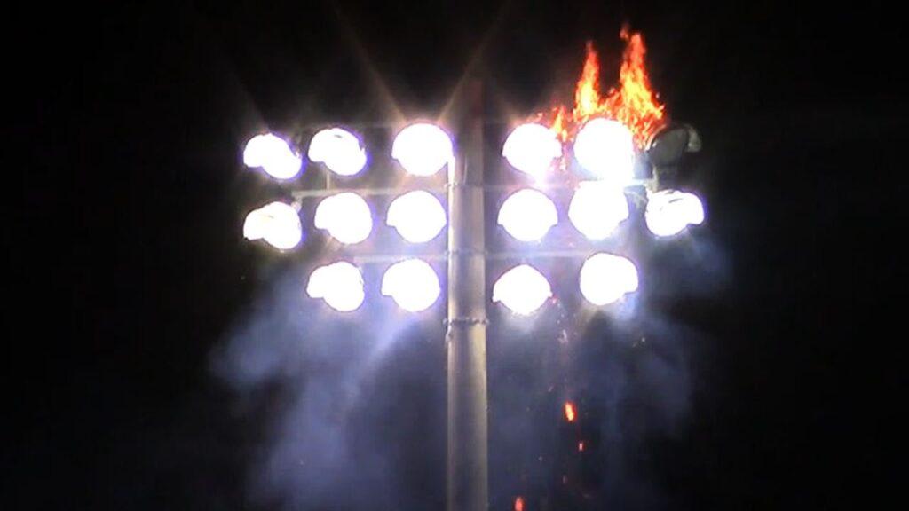 Đèn LED kém chất lượng bị cháy