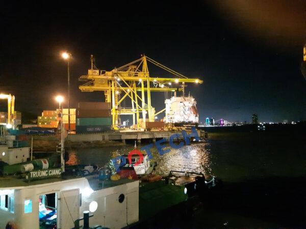 Giải pháp chiếu sáng bến cảng