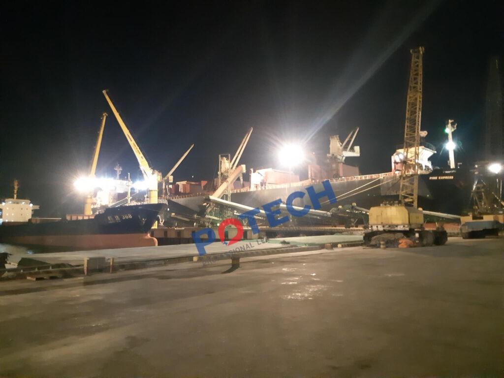 Giải pháp chiếu sáng bến cảng 12
