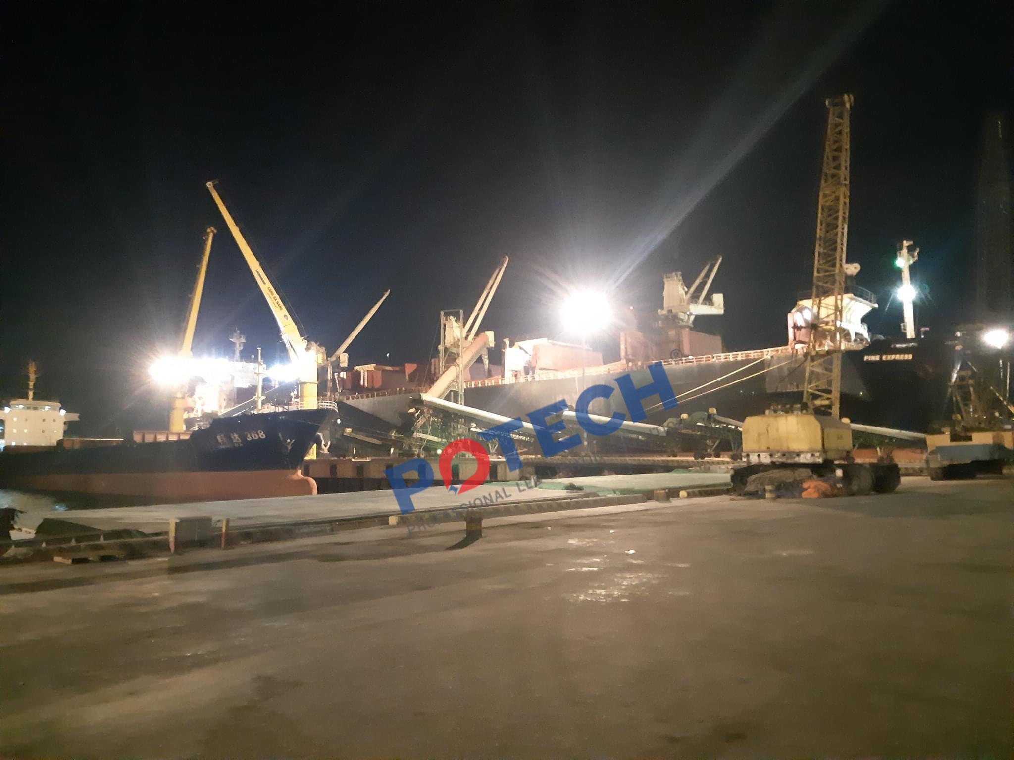Đánh giá hệ thống chiếu sáng và môi trường cảng Vancover