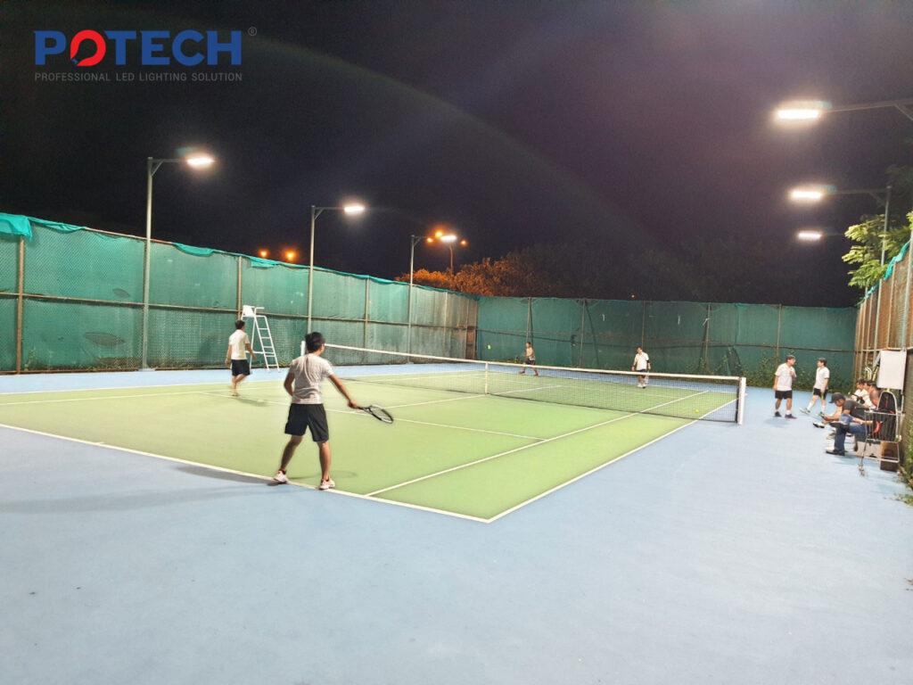 Đèn LED Sân Tennis Nhiệt Điện Vĩnh Tân 7