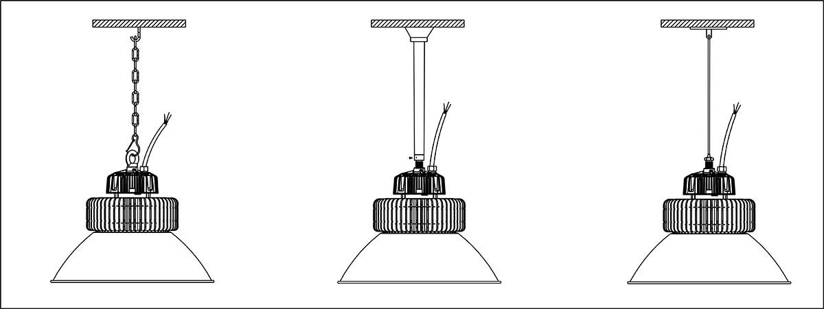 Cách treo đèn PT-HBL2