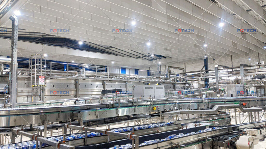 Đèn LED nhà máy bia Heineken Đà Nẵng