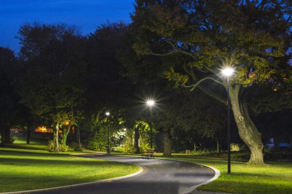 Đèn đường LED tương lai sẽ được kết nối