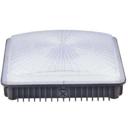 Đèn LED Canopy Xám 100W 120W 2