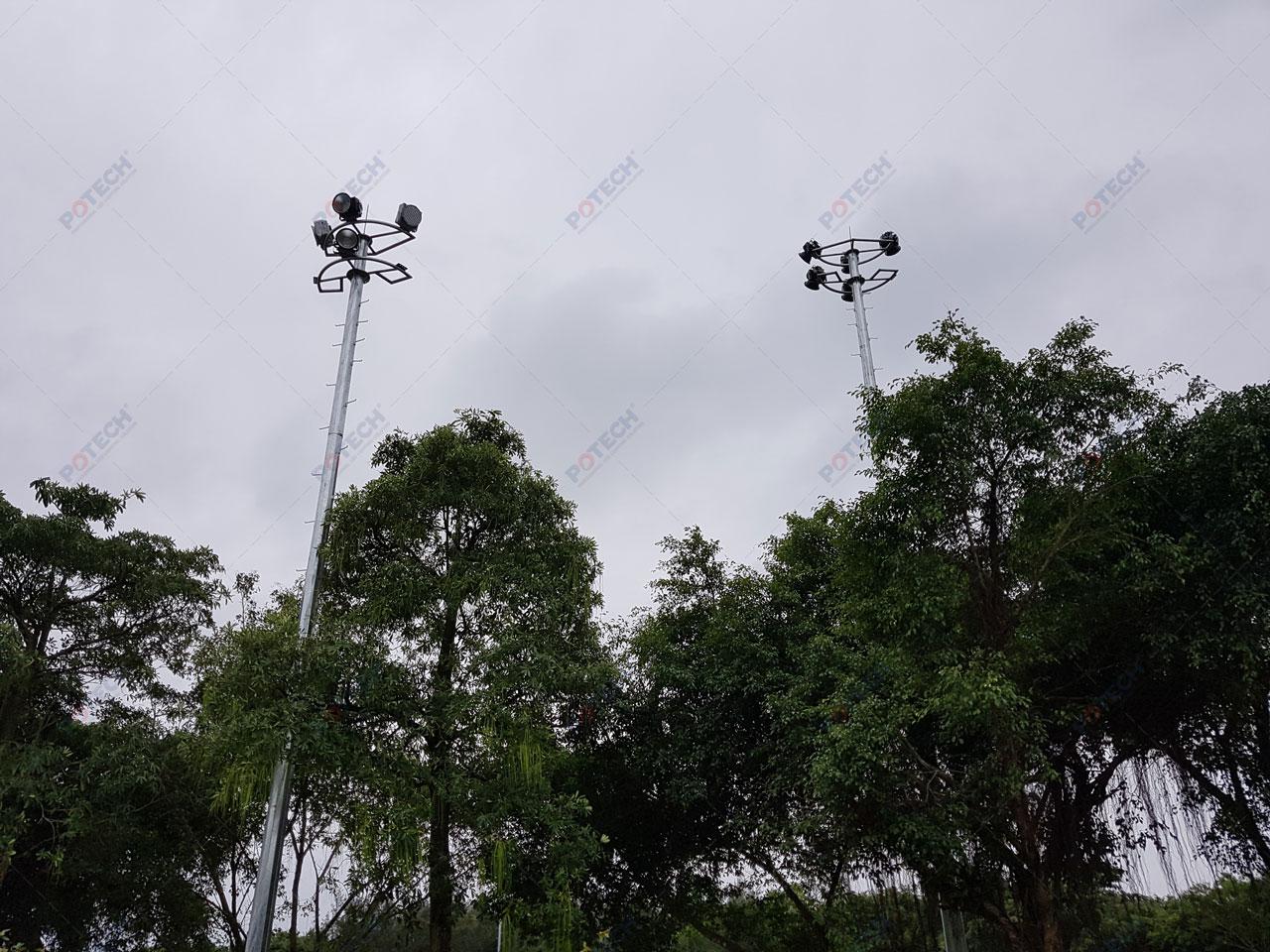 Dự án đèn LED sân golf Cửa Lò POTECH